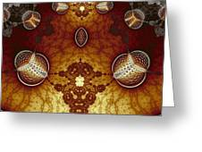 Lanterns And Lace Greeting Card