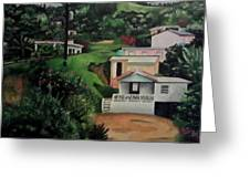 Lares Puerto Rico Greeting Card