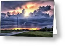 Large Cloud Greeting Card