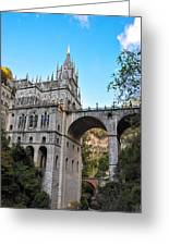 Las Lajas Sanctuary Greeting Card