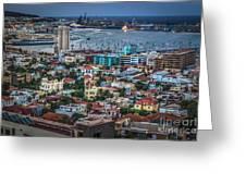 Las Palmas De Gran Canaria Spain Greeting Card