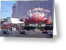 Las Vegas 8 Greeting Card