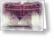 Las Vegas Bellagio Photo Art Greeting Card