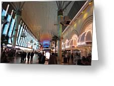 Las Vegas - Fremont Street Experience - 12126 Greeting Card