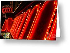 Las Vegas Neon Greeting Card