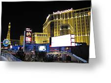 Las Vegas - Planet Hollywood Casino - 12121 Greeting Card by DC Photographer