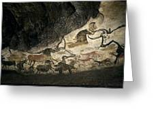 Lascaux II Cave Painting Replica Greeting Card