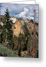 Lassen Volcanic Greeting Card