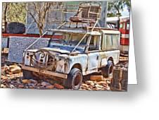 Lasseter Land Rover Greeting Card