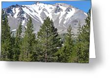 Lasson Peak 2 Greeting Card