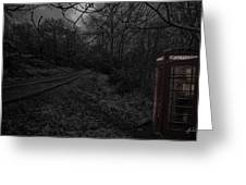Last Chance For Contact Greeting Card