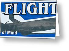 Last Flight Out A Key West State Of Mind - Panoramic Greeting Card by Ian Monk