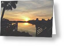 Last Sunset 2012 2 Greeting Card