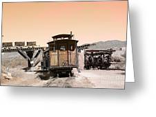 Last Train Home Greeting Card