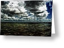 Last Winds Of Hurrican Issac  Greeting Card