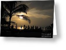 Late Afternoon In Mobay Greeting Card