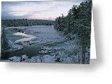 Late Afternoon In Winter Greeting Card