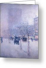 Late Afternoon - New York Winter Greeting Card