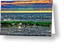 Late Afternoon Ocean Greeting Card