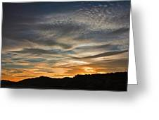Late Afternoon Sky Greeting Card