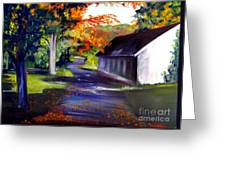 Late Afternoon Sun Greeting Card