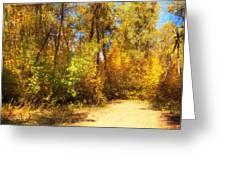 Late Autumn Colours Greeting Card