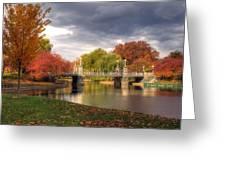 Late Autumn Greeting Card by Joann Vitali