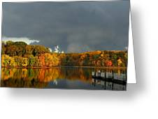 Late Autumn Storm Greeting Card