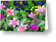 Late Bloomer Greeting Card