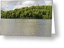 Late Evening On Lake Winfield Scott Greeting Card