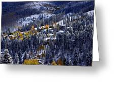 Late Fall In Vail Greeting Card