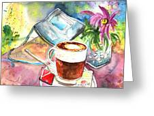 Latte Macchiato In Italy 01 Greeting Card