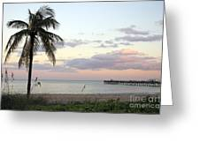 Lauderdale By The Sea Florida Sunset Greeting Card