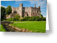 Laugharne Castle Greeting Card