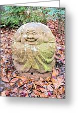 Laughing Forest Buddha Greeting Card