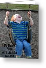 Laughter In The Park Greeting Card
