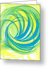 Launch Yourself On Every Wave Greeting Card