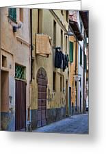Laundry Citta Di Castello Greeting Card