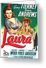 Laura Greeting Card by MMG Archives