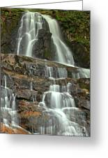 Laurel Falls Cascades Greeting Card