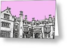 Laurel Hall In Pink  Greeting Card by Adendorff Design
