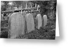Laurel Hill Headstones Greeting Card