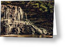 Laurel Run Falls Greeting Card