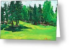 Laurelhurst Park Greeting Card