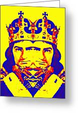 Laurence Olivier Double In Richard IIi Greeting Card