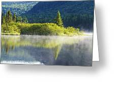 Laurentian Summer Morning Greeting Card
