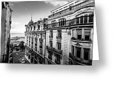 Lausanne City Greeting Card