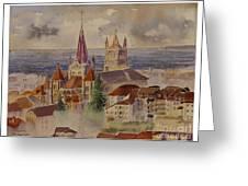 Lausanne Greeting Card