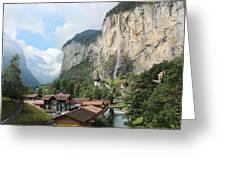 Lauterbrunnen Greeting Card