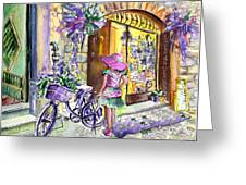 Lavanda Di Venzone In Bergamo Greeting Card